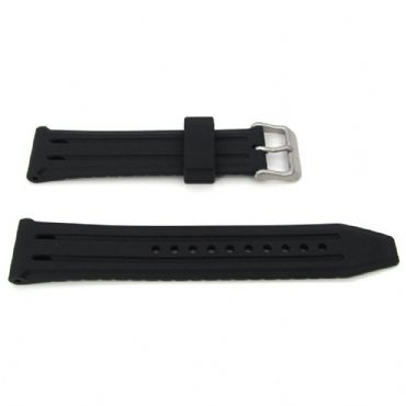 New ORIGINAL SEIKO 5 SRP473K1 Automatic Watch Strap Band PU Rubber BLACK BLUE